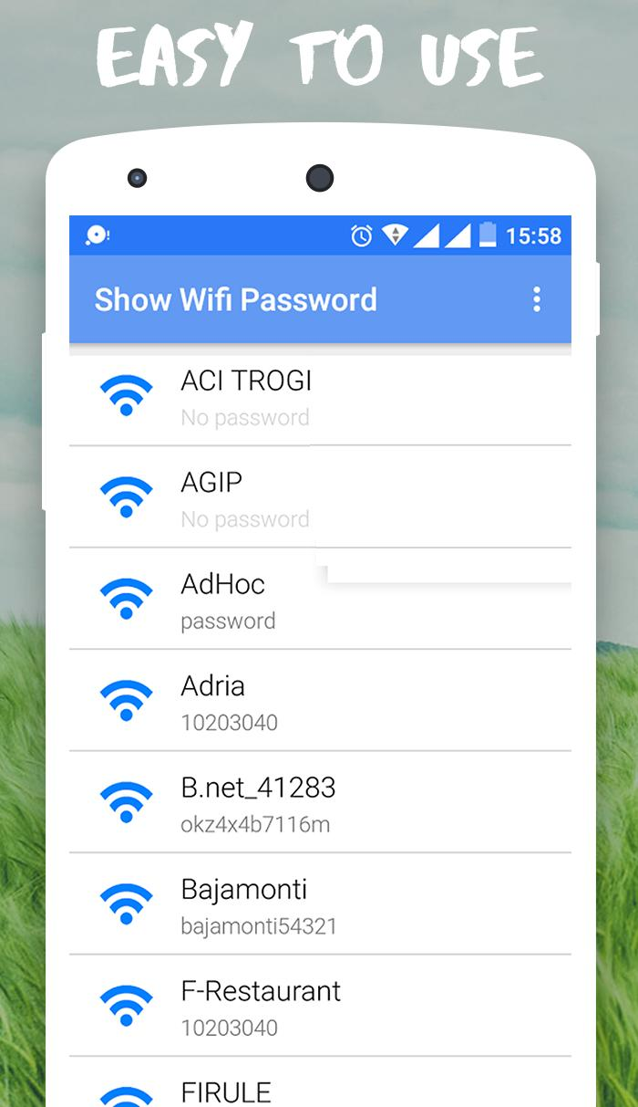 Show Wifi Password For Android Apk Download