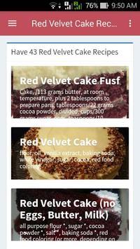 Red Velvet Cake Recipes poster