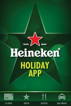 Heineken® Holiday App poster