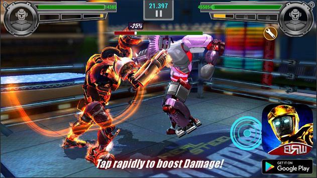 Real Boxing Robot : Steel World screenshot 5