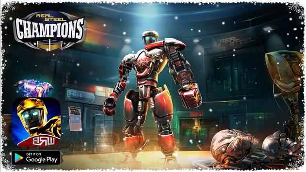 Real Boxing Robot : Steel World poster