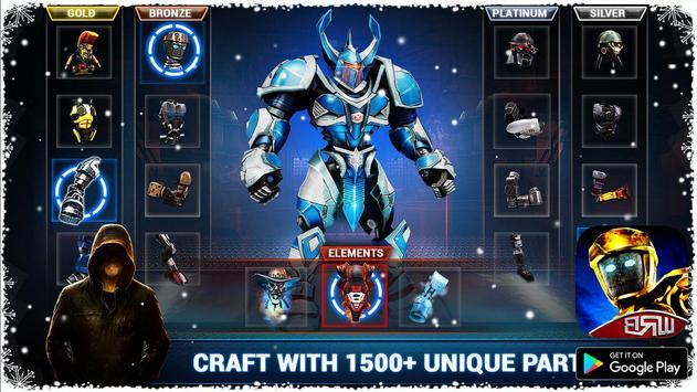 Real Boxing Robot : Steel World screenshot 1