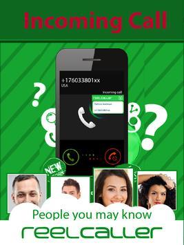 Reel caller Plus-New phonebook poster