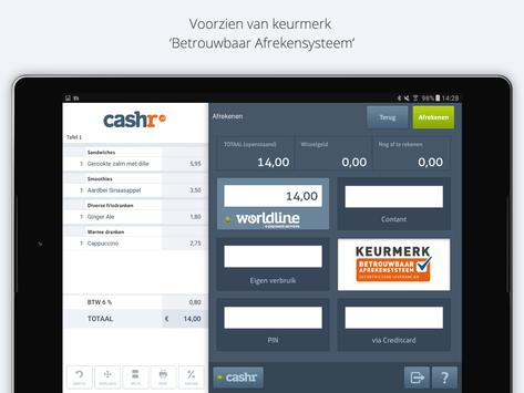 Cashr Kassa Online App (POS) apk screenshot