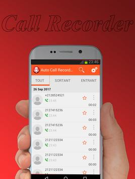 Auto Call Recorder pro 2018 screenshot 1
