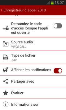 Enregistrement d'appel (free) screenshot 2