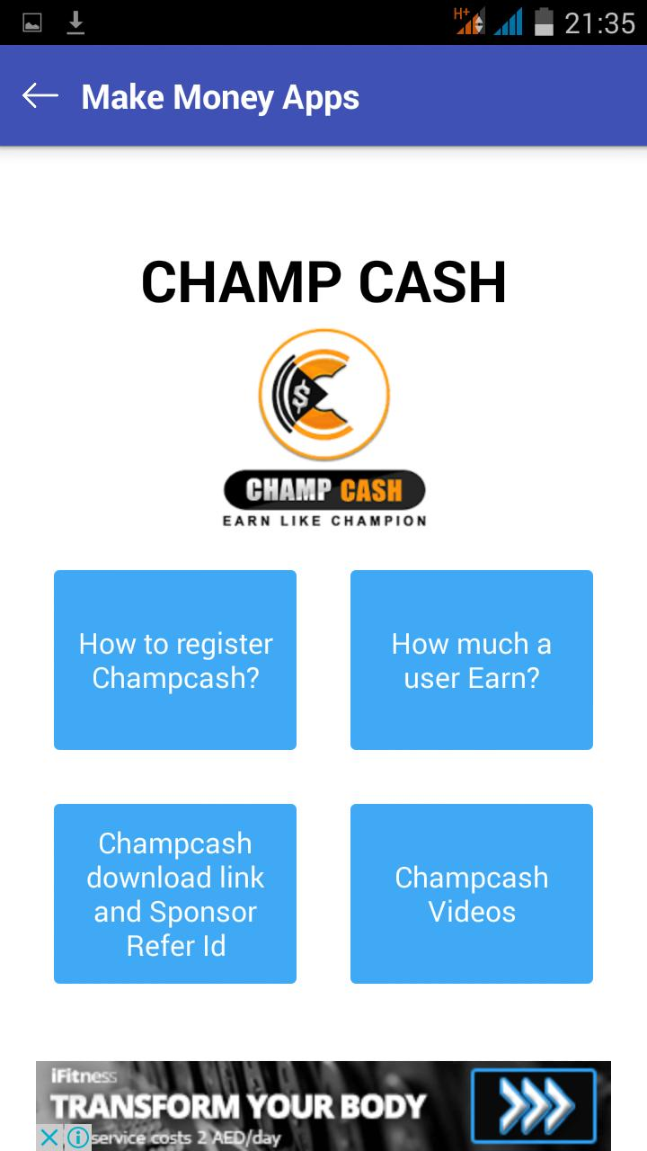 Free Recharge &Make Money Apps for champcash for Android - APK Download