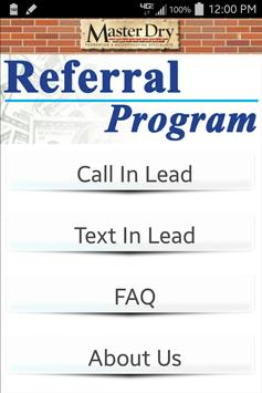 Master Dry Referral Program for Android - APK Download