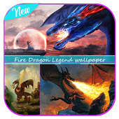 Fire Dragon Legend wallpaper icon