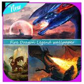 Fire Dragon Legend wallpaper icon