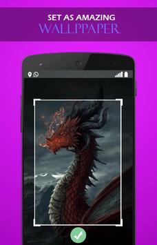 Fire Dragon Legend wallpaper screenshot 2