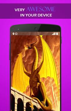 Fire Dragon Legend wallpaper apk screenshot