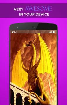 Fire Dragon Legend wallpaper screenshot 3