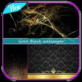 Gold Black wallpaper icon