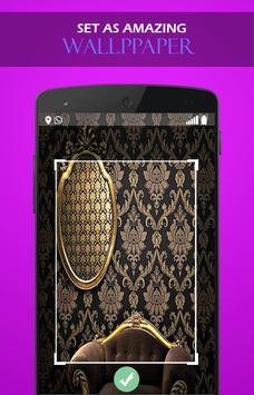 Gold Black wallpaper screenshot 2