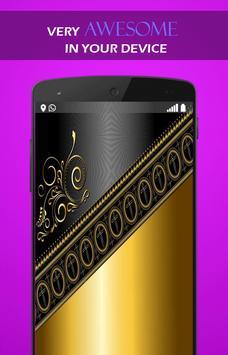 Gold Black wallpaper screenshot 3