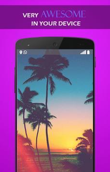 Hot Summer Coconut wallpaper apk screenshot