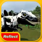 Reflect LEGO Black Saurus icon