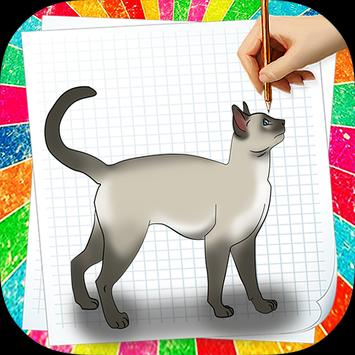 How to Draw Cat poster