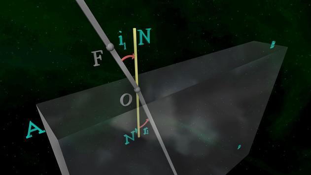 Refraction Light Through Glass screenshot 1
