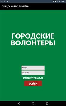 Городские волонтёры poster