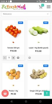 ReFreshMall Online App Fresh Fruits & Vegetables. screenshot 13