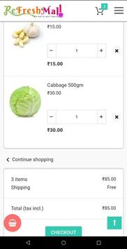ReFreshMall Online App Fresh Fruits & Vegetables. screenshot 2