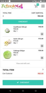ReFreshMall Online App Fresh Fruits & Vegetables. screenshot 3