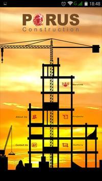 Porus Construction poster