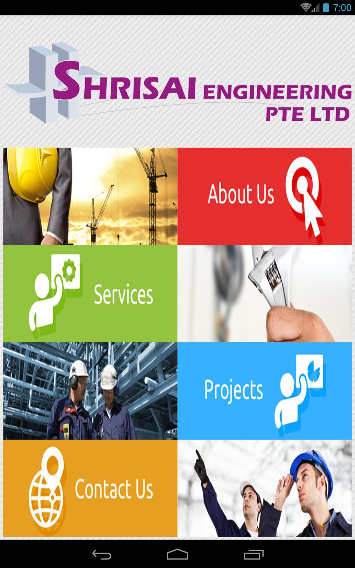 Shrisai Engineering Pte Ltd poster