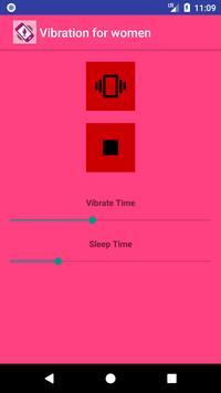 Vibration for women poster