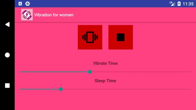 Vibration for women screenshot 1