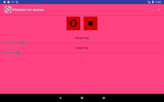 Vibration for women screenshot 5