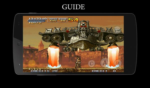 Cheats Guide for Metal Slug poster
