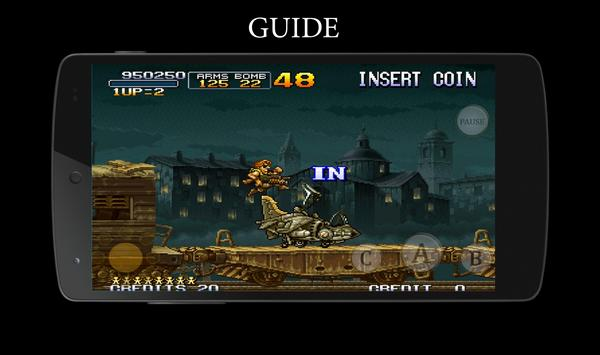 Cheats Guide for Metal Slug apk screenshot