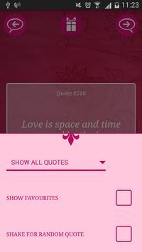 Romantic Words Sayings Phrases apk screenshot
