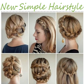 New Simple Hairstyle 2017 2018 Girl Video Tutorial For Android Apk
