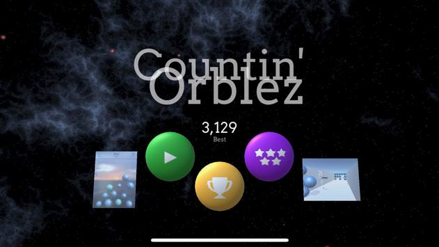 Countin' Orblez poster