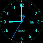 Clock Live Wallpaper - REH.TW icon