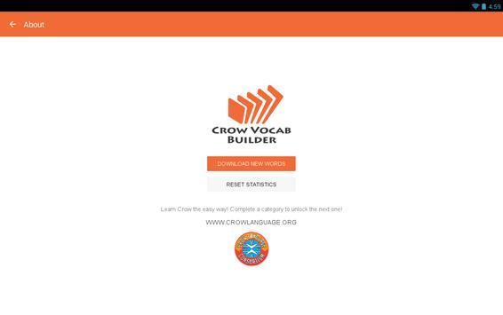Crow Vocab Builder screenshot 4