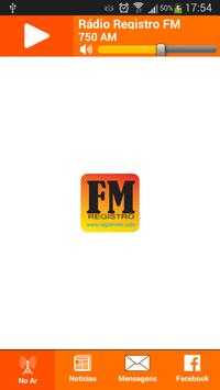 Rádio Registro FM poster