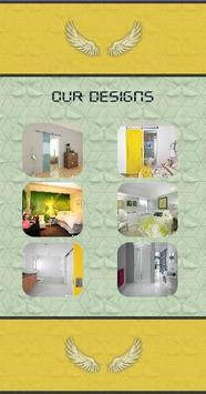 Modern Pocket Door Design poster