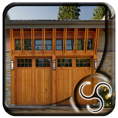 Modern Wooden Garage icon