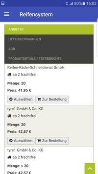 Reifensystem screenshot 7