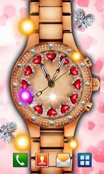 Clock Valentine Day apk screenshot