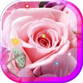Flowers Best HD live wallpaper icon