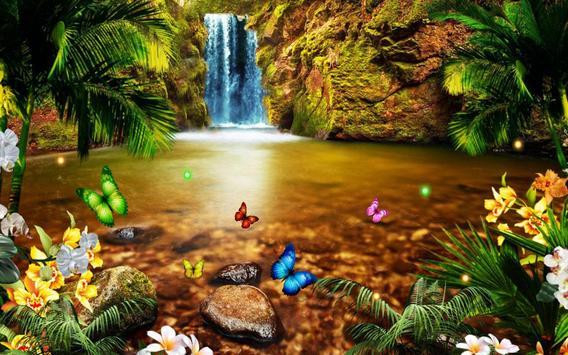 Jungle Waterfall apk screenshot