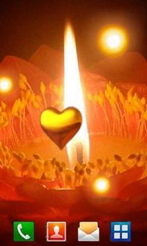 Love Candles live wallpaper apk screenshot