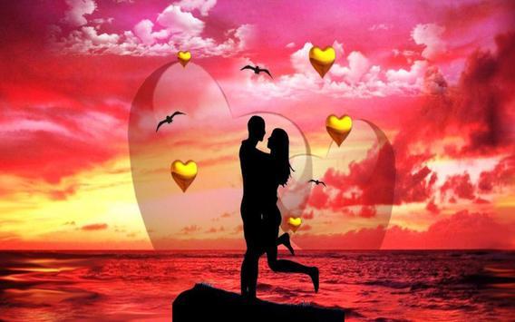Love Sunset HD live wallpaper apk screenshot