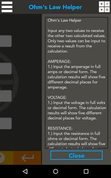Ohm's Law Helper screenshot 8